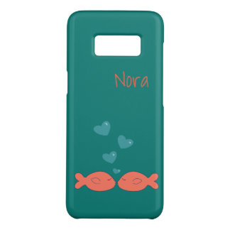 Kissy Fish Personalized Case-Mate Samsung Galaxy S8 Case