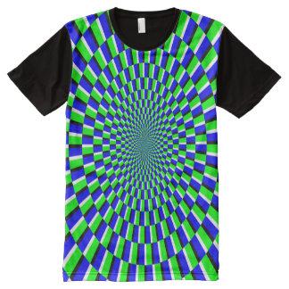 KITAOKA SPINNING ILLUSION DESIGN All-Over PRINT T-Shirt