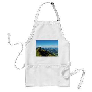 Kitchen apron alps with upper baptism in the