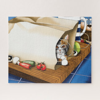 Kitchen Cat Jigsaw Puzzle