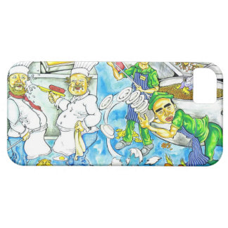 Kitchen Chaos Barely There iPhone 5 Case
