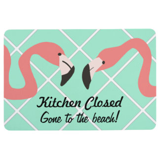 Kitchen Closed Funny Floor Mat