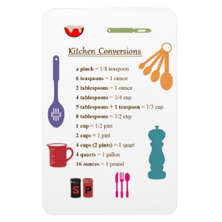 Kitchen Conversions Rectangular Photo Magnet