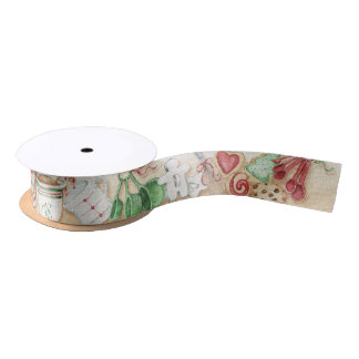 Kitchen Cookie Baker Ribbon Satin Ribbon