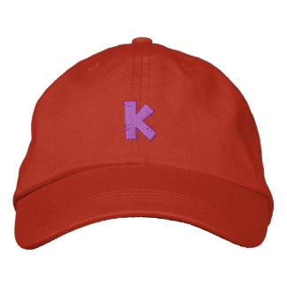 Kitchen Craft Letter K Embroidered Hat