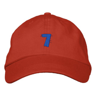 Kitchen Craft Number 7 Embroidered Hats