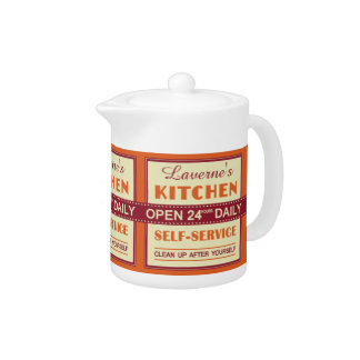 Kitchen – custom name – teapots