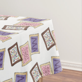 Kitchen Decor Breakfast Toaster Pastry Pastries Tablecloth