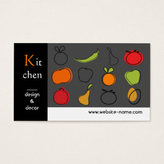 kitchen designer business cards | zazzle.au