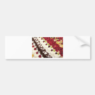 Kitchen Dining Cakes Colorful Photograph Destiny Bumper Sticker