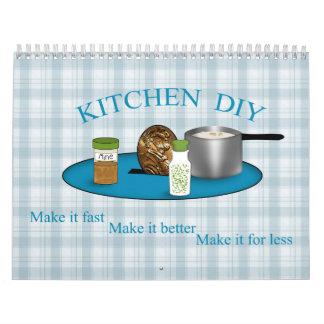 Diy calendars diy wall calendar designs kitchen do it yourself cooking is easy cheap wall calendars solutioingenieria Images