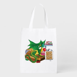 Kitchen Dragon Reusable Grocery Bag