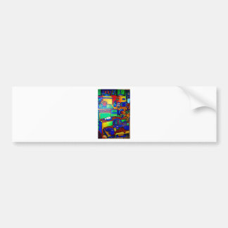 Kitchen Fantasy by Piliero Bumper Stickers