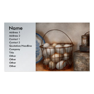 Kitchen - Food - Eggs - Fresh this morning Business Card
