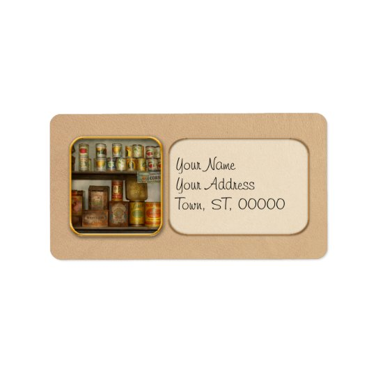 Kitchen - Food - Side dishes Address Label