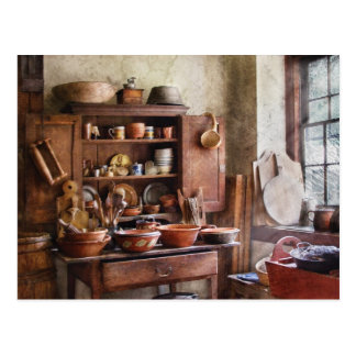 Kitchen - For the Master Chef Postcard