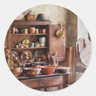 Kitchen - For the Master Chef Round Sticker