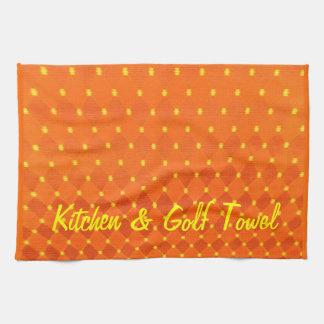 Kitchen & Golf 2 Tea Towel