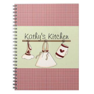 Kitchen Hearts Notebook