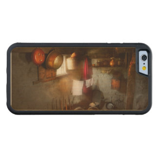 Kitchen - Homesteading life Carved Maple iPhone 6 Bumper Case
