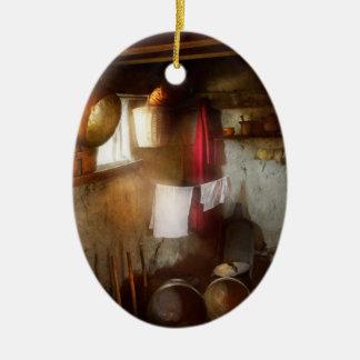 Kitchen - Homesteading life Ceramic Ornament