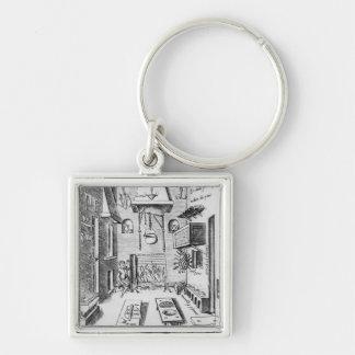 Kitchen interior key ring