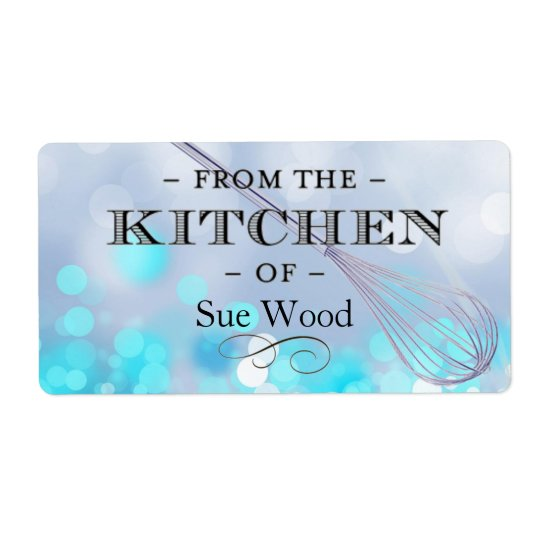 Kitchen Magic Custom Cooking & Baking Labels