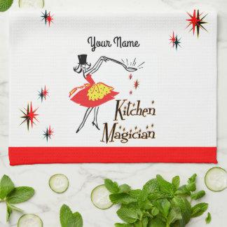 Kitchen Magician Custom Retro Cooking Towel