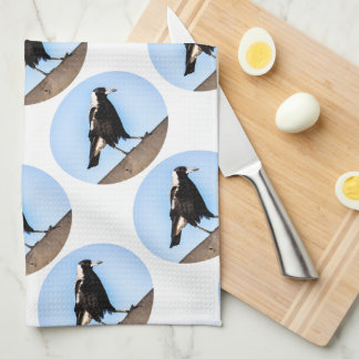 Kitchen Magpie Tea Towel