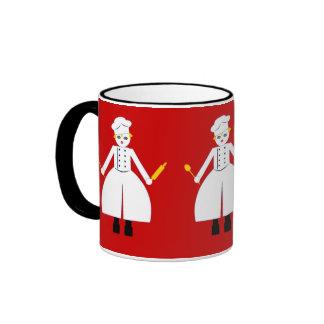 Kitchen Martzkin Red Chefette's Mug