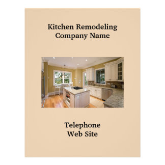 Kitchen Remodeler2 Business Flyer