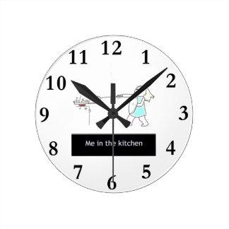 kitchen round clock