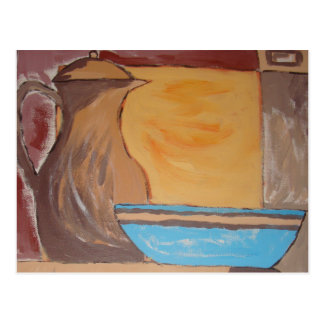 Kitchen Series Painting 3 Postcard
