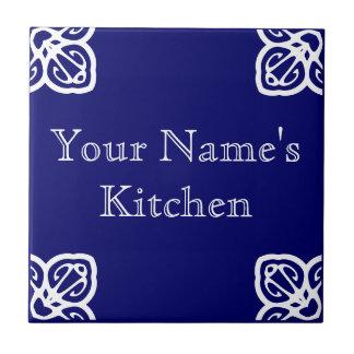 Kitchen Sign Template Spanish Tile