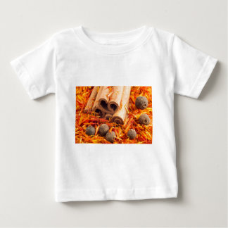 Kitchen spices and herbs close-up baby T-Shirt