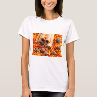 Kitchen spices and herbs close-up T-Shirt
