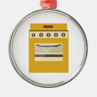 Kitchen Stove Metal Ornament