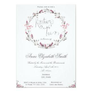 Kitchen Tea Bridal Shower Invitation