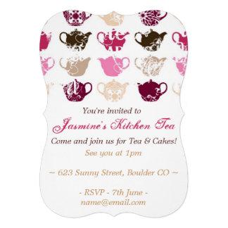 Kitchen Tea Bridal Shower Custom Invitations
