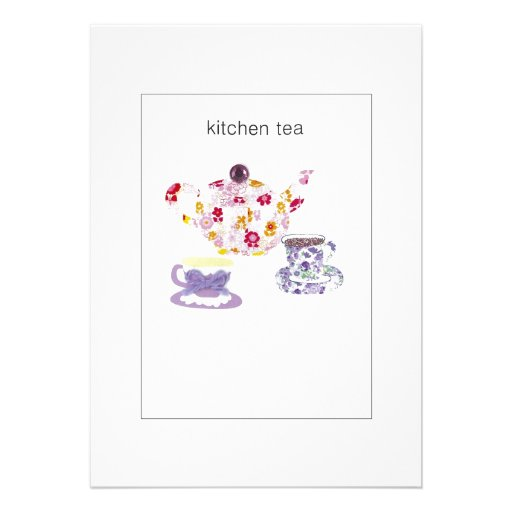 kitchen tea invites ideas kitchen tea invitation zazzle 20089