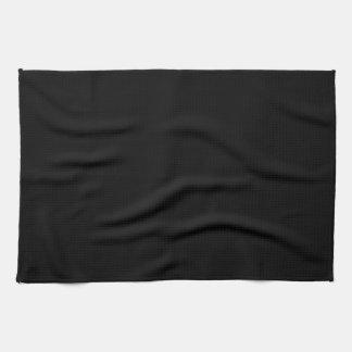 Kitchen / Tea Towel: Plain Black Tea Towel