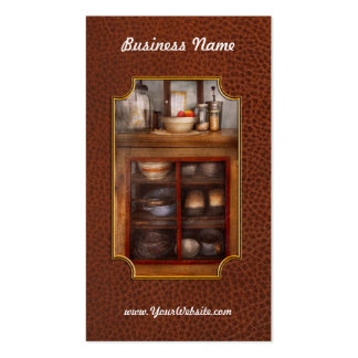 Kitchen - The cooling cabinet Business Card