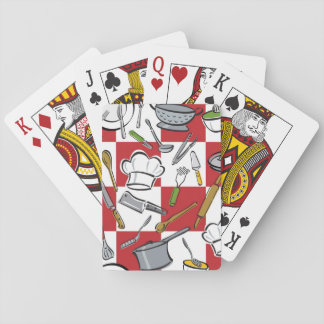 Kitchen Tools Check Playing Cards