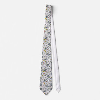 Kitchen Tools Pattern Tie