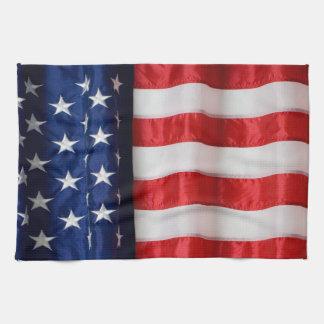 Kitchen towel-American Flag Tea Towel