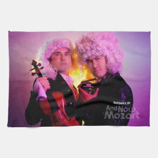 Kitchen Towel: And Now Mozart Tea Towel