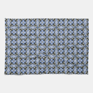 Kitchen Towel Blue Multicolor Pattern