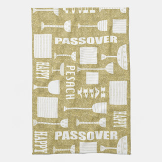 "Kitchen Towel ""Happy Passover/Pesach """