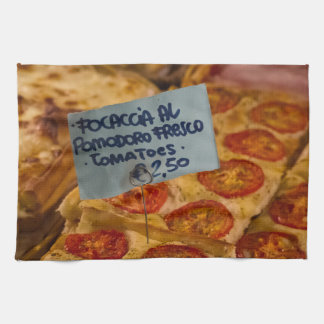 Kitchen Towel - Italian Focaccia Pizza