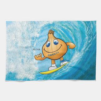 kitchen towel of sweetyonion surfing